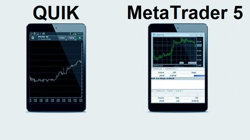 QUIK и MetaTrader 5