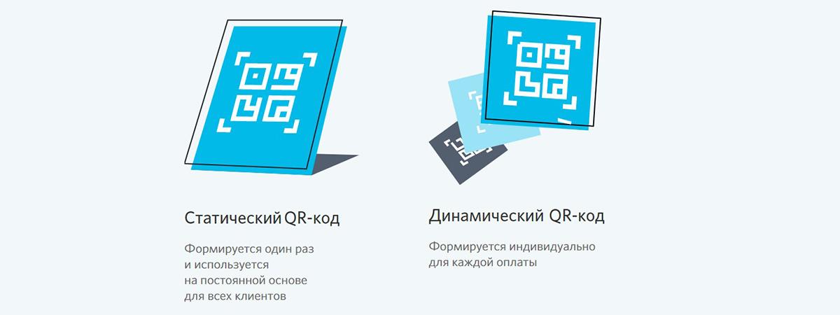 Виды qr-кодов