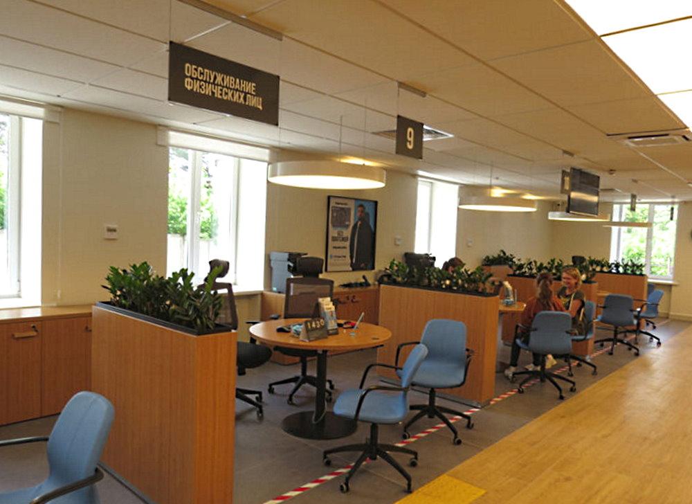 В Академгородке начал обслуживать граждан обновленный офис банка «Открытие»